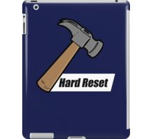 Hard Reset iPad Case/Skin