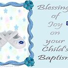 Baptism Card  by Ann12art
