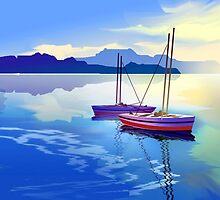 Two Boats by Anil Nene