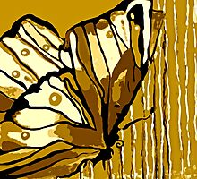 Autumn Butterfly Brown Intense #2 by Saundra Myles