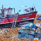 Tide out and Fish tales by Paula Oakley