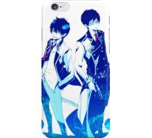 Anime: AO NO EXORCIST - Rin & Yukio iPhone Case/Skin