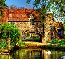 Pulls Ferry, Norwich, Norfolk, UK by Norfolkimages