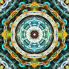 Fractal Glass Kaleidoscope by perkinsdesigns