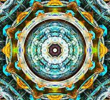 Fractal Glass Kaleidoscope by Phil Perkins