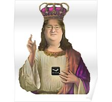 GabeN, Praise the lord! Poster