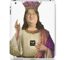 GabeN, Praise the lord! iPad Case/Skin