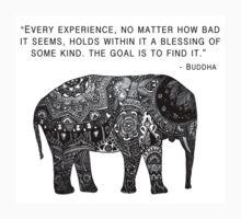 Buddha Wisdom Elephant Kids Clothes