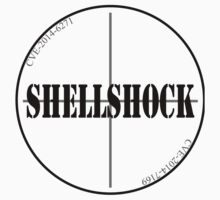 Shellshock Bash Bug Alt. Logo CVE-2014-6271 Shirt by ibadishi