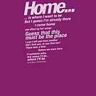"""Talking Heads Lyrics - """"This Must Be The Place (Naive Melody)"""" by buud"""
