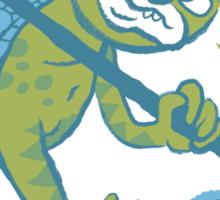 YOKAI & FOOD - Kappa tee Sticker