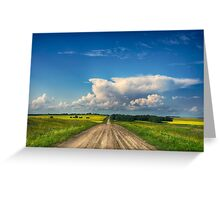 Endless Saskatchewan 210312 Greeting Card