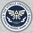 Hyrule University - Swords, Bombs & Bows by Chronotaku