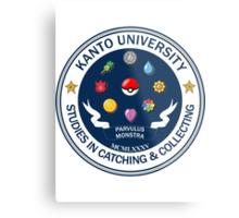 Kanto University - Pokemon Studies Metal Print
