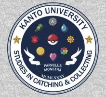 Kanto University - Pokemon Studies Kids Clothes