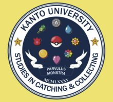 Kanto University - Pokemon Studies Kids Clothes
