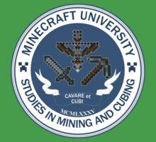 Minecraft University - Mining & Cubing Kids Clothes