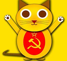 Comrade cat by jaxxx