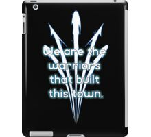 Warriors blue team iPad Case/Skin