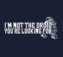 Not the droid... by LittleCrow94