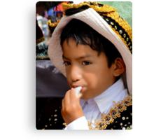 Cuenca Kids 515 Canvas Print