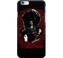 The Red Dinner - Hannibal iPhone Case/Skin