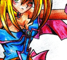 Dark magician girl Sticker