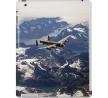 Lancaster over Greenland iPad Case/Skin