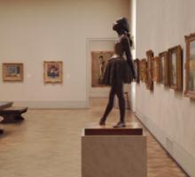 Degas' Little Dancer of Fourteen Years Sticker