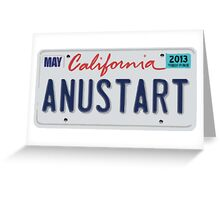 ANUSTART (A New Start) Greeting Card