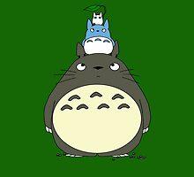Totoro Pyramid by RedSolar