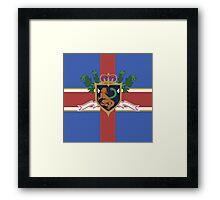 The Holy Britannian Empire Framed Print