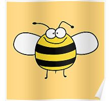 Funny Sweet Baby Bee / Bumble Bee Poster