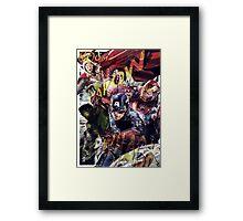 The Avengers Strike Back! Framed Print