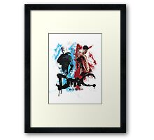 DmC 'Devil May Cry' - Worlds Collide Framed Print