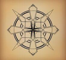 Mandala #110 || Tan by RedBookJournals