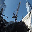 The New World Trade Center Transit Hub, New World Trade Center,Lower Manhattan, New York City  by lenspiro
