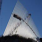 The New World Trade Center Transit Hub Oculus, Santiago Calatrava, Architect, wer Manhattan, New York City,  by lenspiro