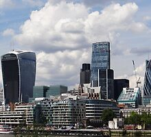 The City of London by PlaneMad1997