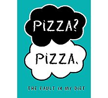 The Fault In My Diet Photographic Print