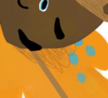 Fall Acorn Sticker