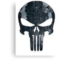 Punisher (camo) Canvas Print