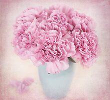 A beautiful bouquet of mauve Carnations by carolynrauh