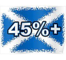 45% + FREE SCOTLAND Poster
