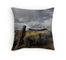 Just To Touch The Past ~ Fort Rock ~ Throw Pillow
