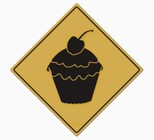 Cupcake Crossing Sign by YoPedro