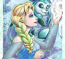 Elsa's Pokemon by Zhivago