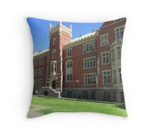 Brookman Building built 1889, Uni S.A. North Terrace, Adelaide.S.A. Throw Pillow