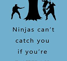 Funny Batman - Batman Vs Ninjas by Mellark90