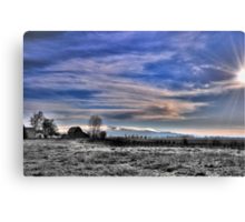 Early morning Oregon Canvas Print